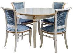 Обеденный стол Обеденный стол Пинскдрев Милана 12А П313.08 (слоновая кость)