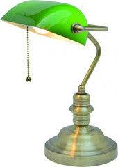 Настольный светильник Arte Lamp Banker A2492LT-1AB