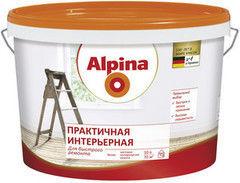 Краска Краска Alpina Практичная интерьерная 2.5 л