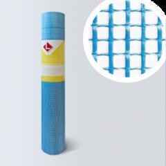 Стеклосетка, серпянка Lihtar Штукатурная синяя Professional 160 (яч.5x5мм, 1x50м)