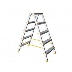 Лестница ITOSS Лестница-стремянка алюминиевая двухсторонняя 121 см 6 ступеней 4,65 кг iTOSS Eurostyl (1926)