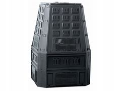 Контейнер, урна Prosperplast MULTI, 650L, черный