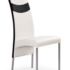 Кухонный стул Halmar K51 (белый/черный)