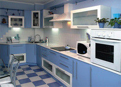 Кухня Кухня Алфексгрупп №35 (Плёночный МДФ)