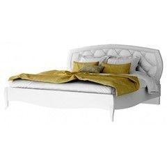 Кровать Кровать Аква Родос Кровать Сан Ремо 1800 (Белый Глянец)