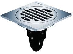 Водоотвод для ванной комнаты MAGdrain Душевой трап вертикальный (C01Q5-G) 100x100