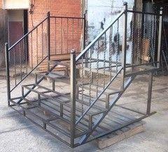Металлическая лестница Вестпро Пример 97
