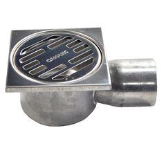 Водоотвод для ванной комнаты Санакс Душевой трап горизонтальный (00021) 100x100