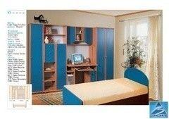 Детская комната Детская комната Tiolly Вариант 11