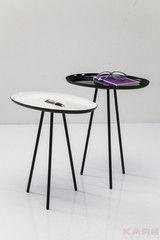 Журнальный столик Kare Side Table Uovo (2/Set) 78978