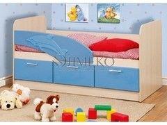 Детская кровать Детская кровать Олмеко 06.223 Дельфин