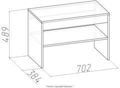 Пуфик Пуфик Глазовская мебельная фабрика Primavera (702x384x489)
