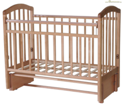 Детская кровать Кроватка Антел Алита-5 (бук)