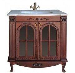 Мебель для ванной комнаты Атолл Тумба Венеция redwood