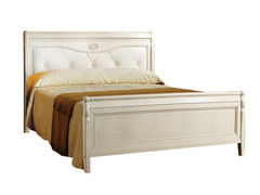 Кровать Кровать Молодечномебель Лика ММ-137-02/14 белая эмаль