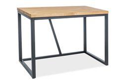 Письменный стол Signal Silvio (дуб/черный)