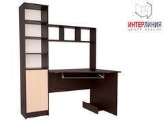 Письменный стол Интерлиния СК-005 Дуб венге+Дуб молочный