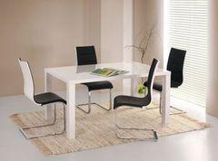 Обеденный стол Обеденный стол Halmar Ronald раскладной 120х80 (белый)
