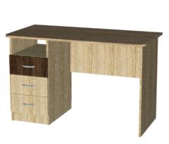 Письменный стол Мебель-Класс Альянс МКД-218 (дуб сонома/ дуб шато)