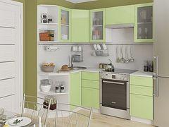 Кухня Кухня Vivat Валерия-М-04 (Салатовый глянец)