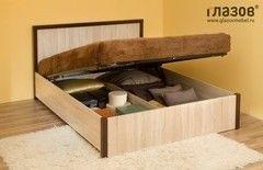 Кровать Кровать Глазовская мебельная фабрика BAUHAUS 3.2 1400 с подъемным механизмом