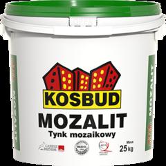 Декоративное покрытие Kosbud Mozalit NTM (с белым наполнителем) 25 кг