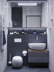 Дизайн ванной PuzzleHome Вариант 24