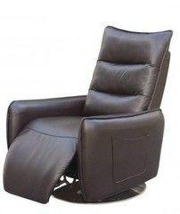 Кресло Halmar Royal раскладное (коричневое)