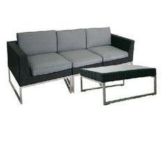 Комплект мебели из ротанга Garden4you Steel 1362,13621,13622 +13624
