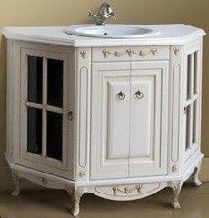 Мебель для ванной комнаты Атолл Тумба Полини 120 dorato