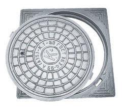 Люк канализационный Люк канализационный КУП СЛМЗ Тип Л с квадратным корпусом (А15) К 1-60