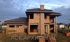 Строительство домов Строительство домов АмберДом Пример 2