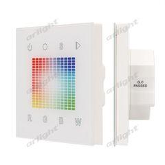 Arlight Панель Sens SR-2831S-AC-RF-IN White (220V,RGB,1зон