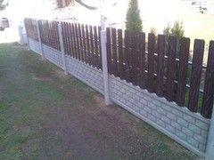 Забор Забор Вишадэ Забор бетонный с металлическим штакетником