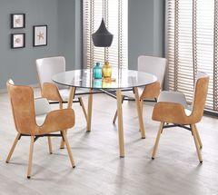 Обеденный стол Обеденный стол Halmar Yukon (бесцветный/бук)