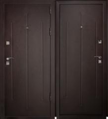 Входная дверь Металлические двери Йошкар Стройгост 7-2 Металл/Металл