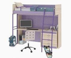 Детская комната Детская комната ТриЯ Индиго №2 ГН-145.002