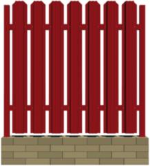 Забор Забор КвинСтар Металлический штакетник