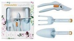 Посадочный инструмент, садовый инвентарь, инструменты для обработки почвы Fiskars Набор инструментов Inspiration Lucy 137141