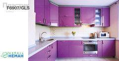 Кухня Кухня Мебель-Неман Венеция современная пластик F6907/GLS