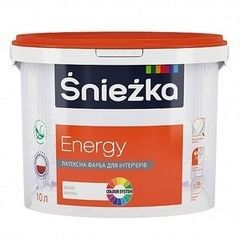 Краска Краска Sniezka Energy White 10 л