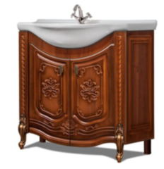 Мебель для ванной комнаты Калинковичский мебельный комбинат Венеция 850 КМК 0461.5 (орех экко)