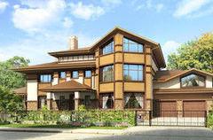 Строительство домов Дом с мансардой ИП Сопин А.В. Пример 47