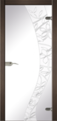 Стеклянная дверь Dariano Батик (стекло прозрачное)