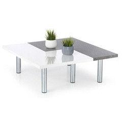 Журнальный столик Halmar Itaka (белый/ серый)