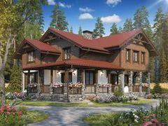 Строительство домов Строительство домов БелДревМонтаж Шале К 12х12