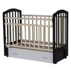 Детская кровать Кроватка Антел Алита 6 венге/слоновая кость