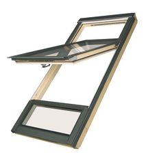 Мансардное окно Мансардное окно Fakro FDY-V U3 Duet proSky (78x186)
