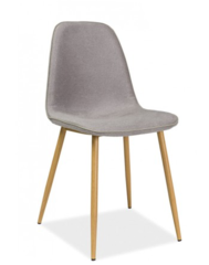Кухонный стул Signal Dual (дуб/серый)
