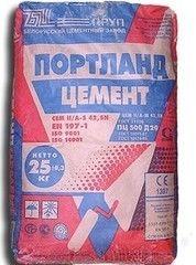 Цемент БЦЗ ПЦ500-Д20 (25 кг)